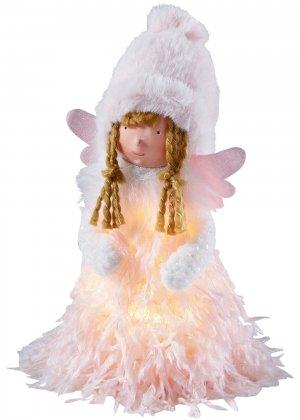 Фигурка декоративная с подсветкой bonprix. Цвет: розовый