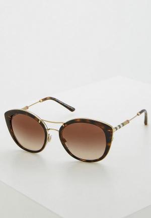 Очки солнцезащитные Burberry BE4251Q 300213. Цвет: коричневый