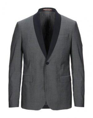Пиджак FUTURO. Цвет: серый