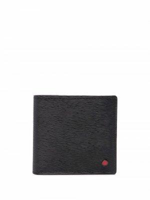 Фактурный кошелек Kiton. Цвет: черный