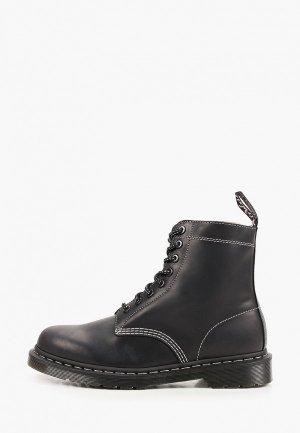 Ботинки Dr. Martens 1460 Pascal Zipped-8 Eye Boot. Цвет: черный