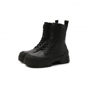 Кожаные ботинки Vic Matie. Цвет: чёрный