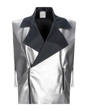 Куртка ...À_LA_FOIS.... Цвет: серебристый