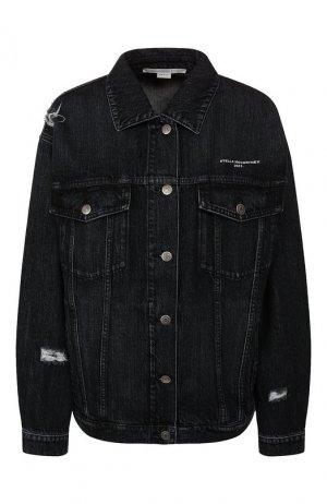 Джинсовая куртка Stella McCartney. Цвет: черный
