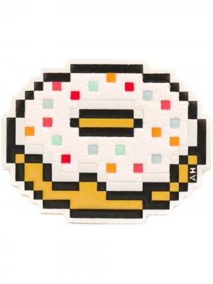 Наклейка с изображением пончика Anya Hindmarch. Цвет: разноцветный