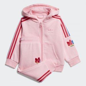 Спортивный костюм Originals adidas. Цвет: розовый