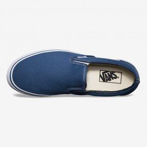 Кеды Classic Slip-On VANS. Цвет: синий