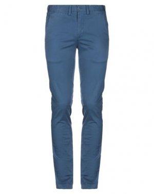 Повседневные брюки ERIC HATTON. Цвет: грифельно-синий