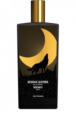 Парфюмерная вода Russian Leather Memo. Цвет: бесцветный
