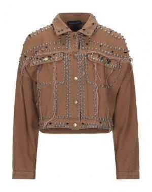 Куртка VANESSA SCOTT. Цвет: верблюжий