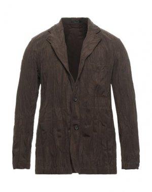 Пиджак ISSEY MIYAKE MEN. Цвет: зеленый-милитари