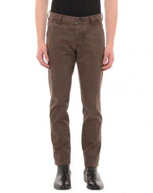Джинсовые брюки AT.P.CO. Цвет: коричневый