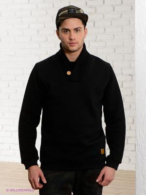 Пуловер IUTER. Цвет: черный