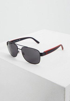 Очки солнцезащитные Polo Ralph Lauren PH3122 903887. Цвет: черный