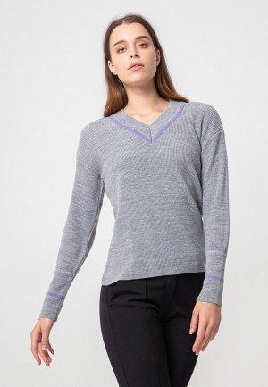 Пуловер BGN. Цвет: серый
