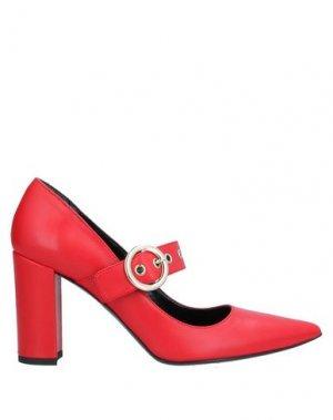 Туфли ATOS LOMBARDINI. Цвет: красный