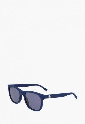 Очки солнцезащитные Lacoste 929SEOG. Цвет: синий