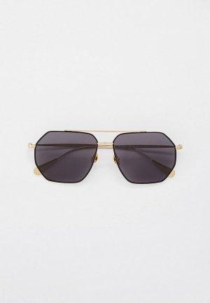 Очки солнцезащитные Baldinini BLD 2008 101 GOLD. Цвет: золотой