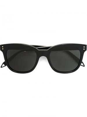 Солнцезащитные очки в квадратной оправе Victoria Beckham. Цвет: чёрный