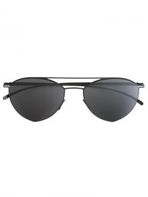 Солнцезащитные очки Mikita x Maison Margiela Mykita. Цвет: серый