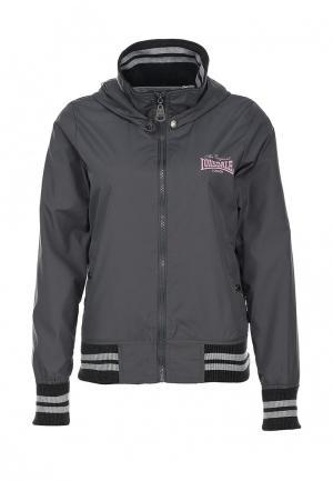 Куртка Lonsdale. Цвет: серый