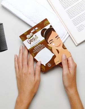 Увлажняющая маска для лица с кокосовым маслом Yes To-Бесцветный TO