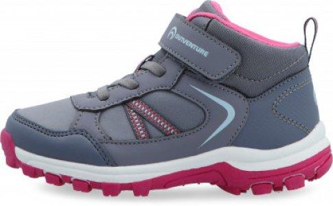 Ботинки для девочек Track Mid LK 2 G, размер 30 Outventure. Цвет: фиолетовый