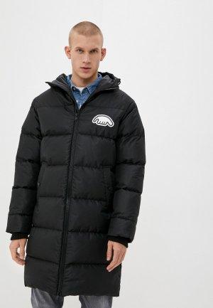 Куртка утепленная Anteater Downlong-black. Цвет: черный