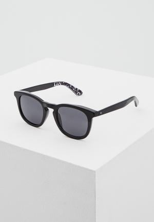 Очки солнцезащитные Jimmy Choo JI002DMAXZY2. Цвет: черный