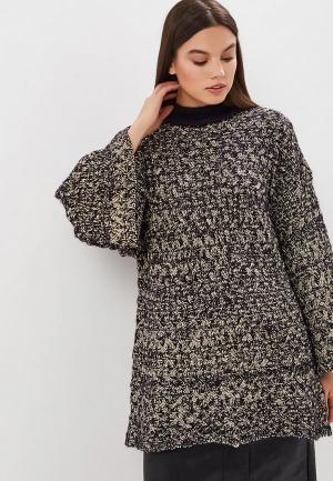 Джемпер Lost Ink LUREX TUNIC DRESS. Цвет: серый
