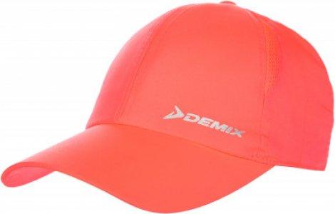 Бейсболка для девочек , размер 54 Demix. Цвет: розовый