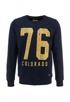 Свитшот Colorado Jeans. Цвет: синий