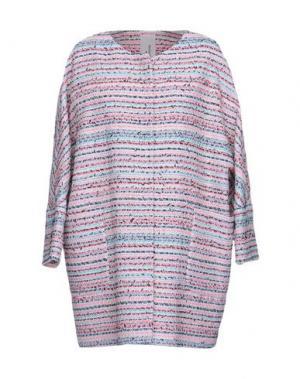 Легкое пальто MANUELA CONTI. Цвет: белый