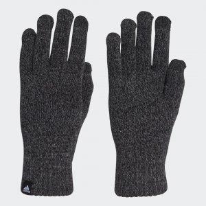 Перчатки Conductive Athletics adidas. Цвет: черный