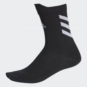 Носки Alphaskin Performance adidas. Цвет: черный