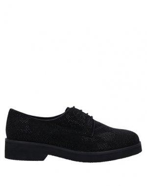 Обувь на шнурках BRUNO PREMI. Цвет: черный