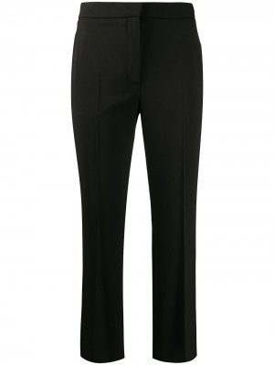 Укороченные брюки строгого кроя Roberto Cavalli. Цвет: черный
