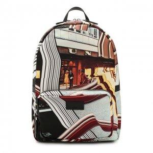 Текстильный рюкзак Dunhill. Цвет: чёрный