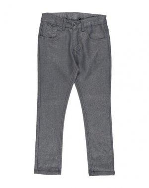 Повседневные брюки 3 POMMES. Цвет: стальной серый