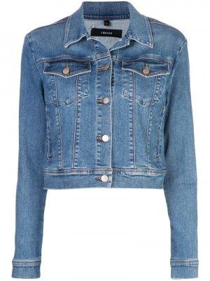 Джинсовая куртка Harlow J Brand. Цвет: синий