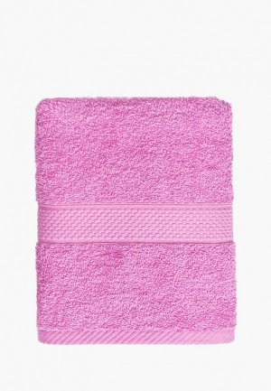 Полотенце Arya home collection Miranda. Цвет: розовый