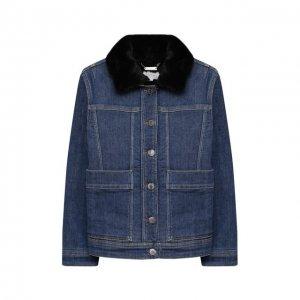 Куртка Givenchy. Цвет: синий