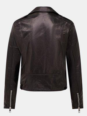 Кожаная куртка Imperial. Цвет: chernyy
