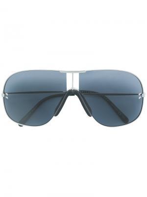 Солнцезащитные очки авиаторы Stella McCartney Eyewear. Цвет: синий