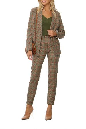 Костюм: пиджак, брюки AVEMOD. Цвет: бежевый