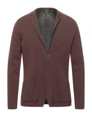 Пиджак DRUMOHR. Цвет: красно-коричневый