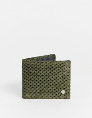 Бумажник -Зеленый Timberland