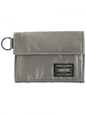 Бумажник Tanker Porter-Yoshida & Co. Цвет: серый