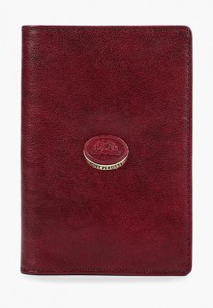 Обложка для паспорта Tony Perotti. Цвет: фиолетовый