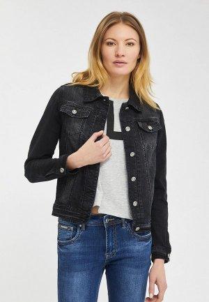Куртка джинсовая Mossmore. Цвет: черный
